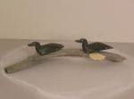 Inuit sculpture - birds
